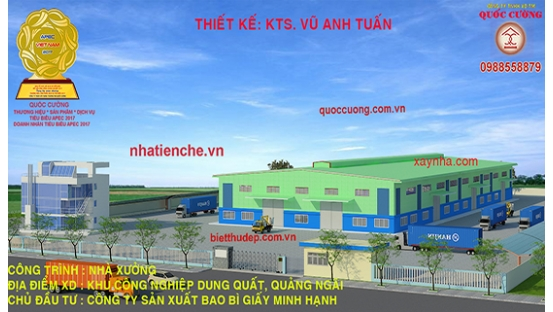MANUFACTURER OF PAPER PACKAGING COMPANY. LOCATION: DUNG QUAT INDUSTRIAL PARK, QUANG NGAI PROVINCE. J